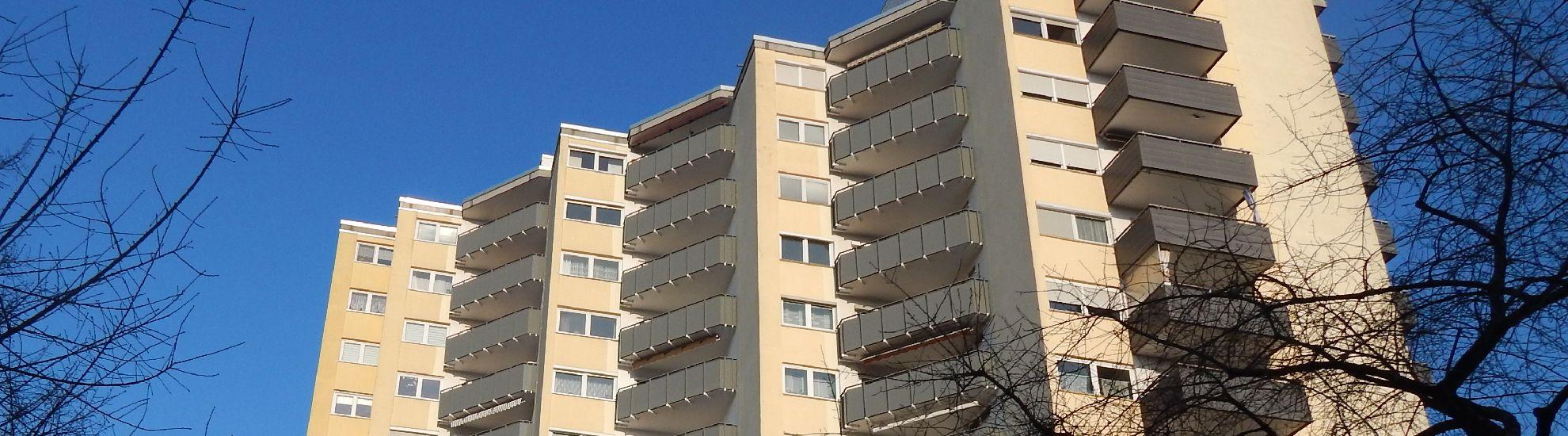 Hochhaus Balkonsanierung