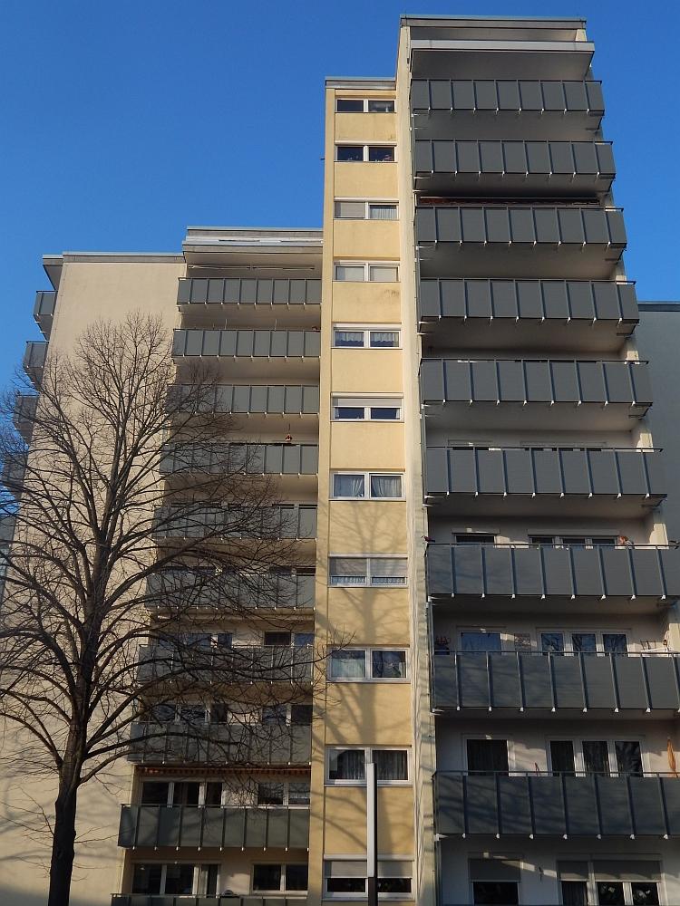 Balkonverkleidung IDEA senkrecht 9 grau matt